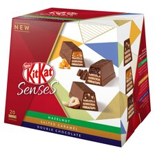 image 3 of Kit Kat Senses Assorted Box 20 Bite Size Pieces 200G