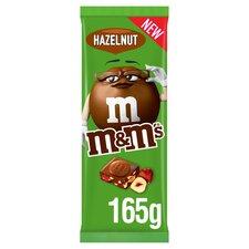 image 1 of M&M's Hazelnut Milk Chocolate Block 165G