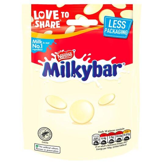 Milkybar White Chocolate Pouch 94G