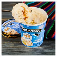 image 3 of Ben & Jerry's Moophoria Caramel Cookie Fix Vanilla Ice Cream 465Ml