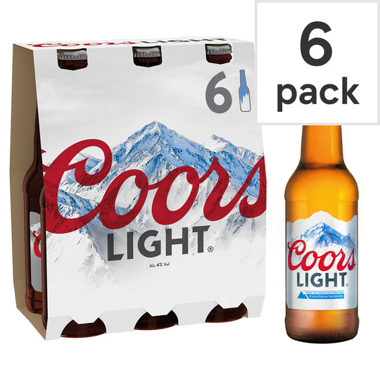 image 1 of Coors Light 6X330ml