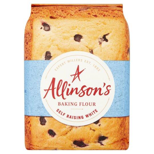 Allinson's Self Raising White Baking Flour 1Kg