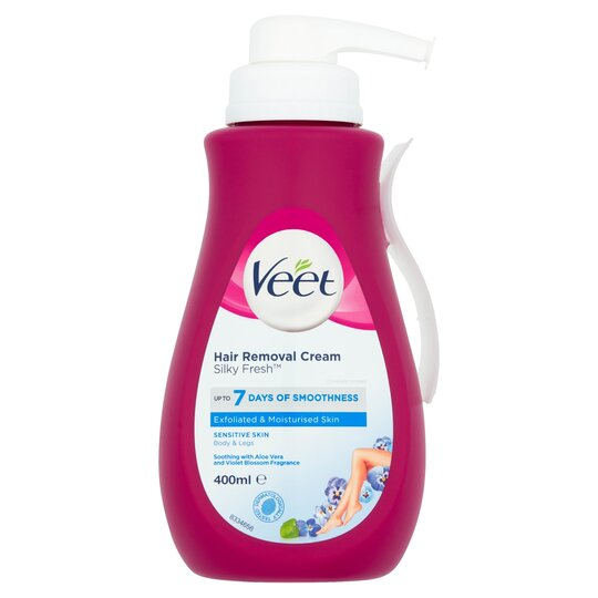 Veet Hair Removal Cream 400ml Tesco Groceries
