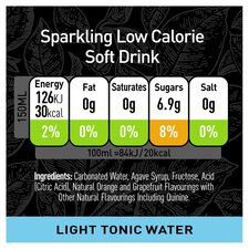 image 2 of Schweppes 1783 Light Tonic Water 6X150ml