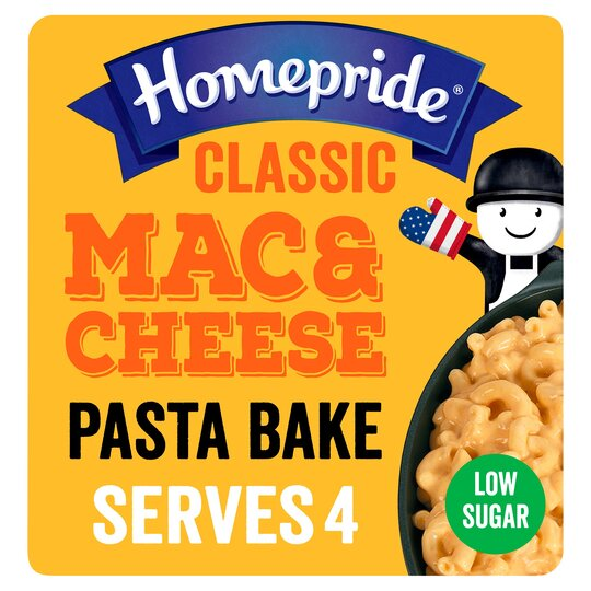 Homepride All American Classic Mac & Cheese 350G