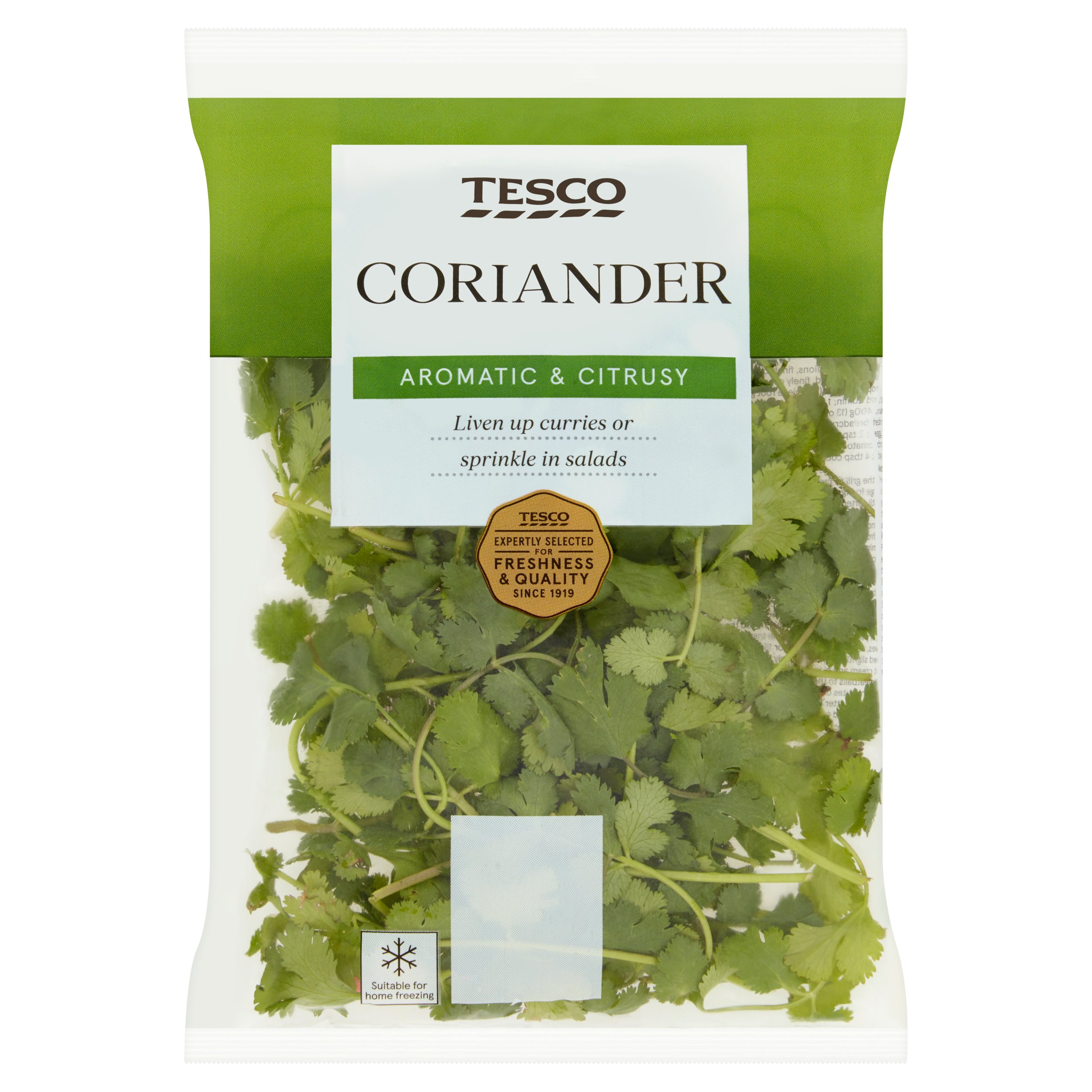 TESCO > Fresh Food > Tesco Fresh Cut Coriander 30G