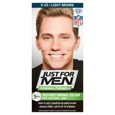 image 1 of Just For Men Hair Colourant Natural Light Brown