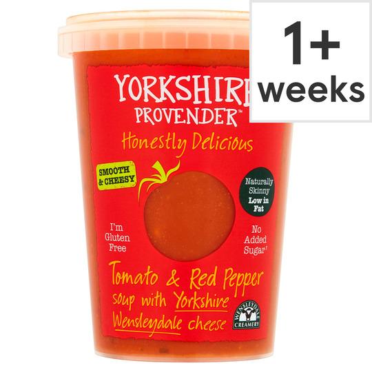 Yorkshire Provender Tomato & Pepper Soup 600G