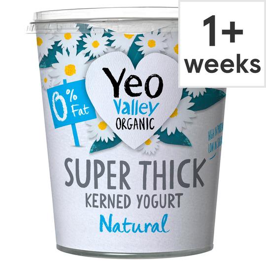 Yeo Valley Organic Super Thick 0% Natural Yogurt 850G