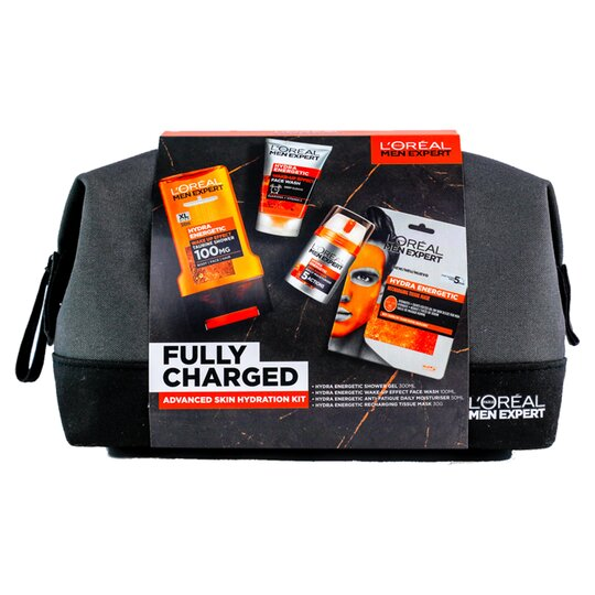 image 1 of L'oreal Men Expert Fully Charged Hydration Kit