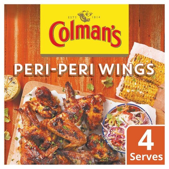 Colman's Share The Flavour Peri -Peri Wings 29G