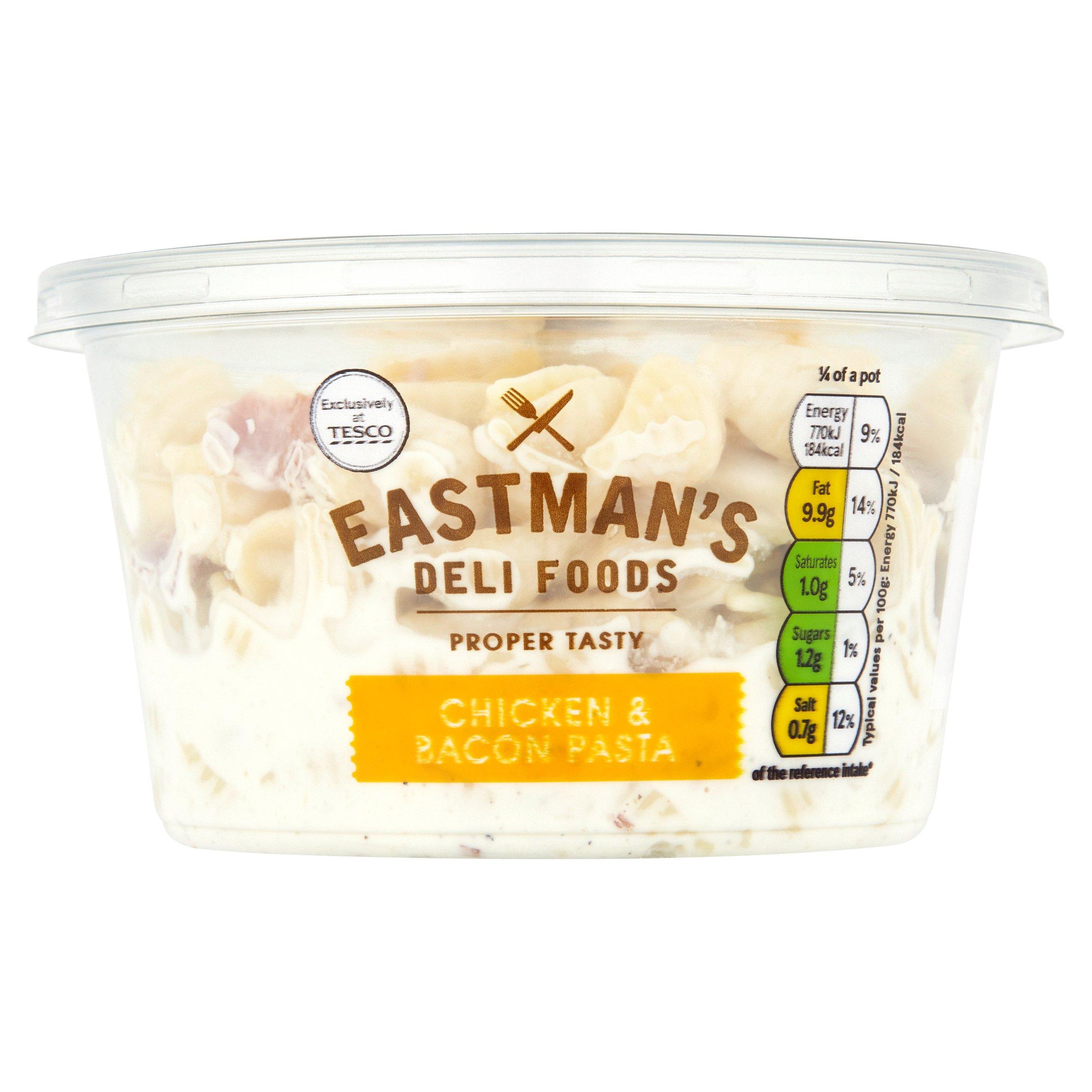 Eastmans Chicken & Bacon Pasta 400G