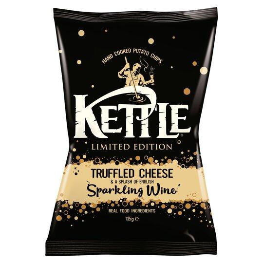 Kettle Crisps Truffled Cheese & Wine 135G