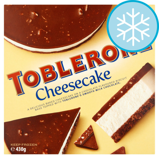 Toblerone Chocolate Cheesecake 430G