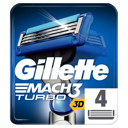 image 1 of Gillette M3 Turbo Mach Blades 4S