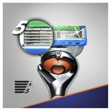 image 3 of Gillette Fusion Proglide Power Razor With Flexball Technology