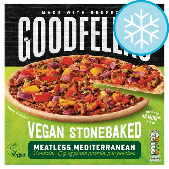 Goodfellas Vegan Meatless Mediterranean Pizza 387G