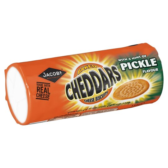 Jacob's Cheddars Pickle 150G