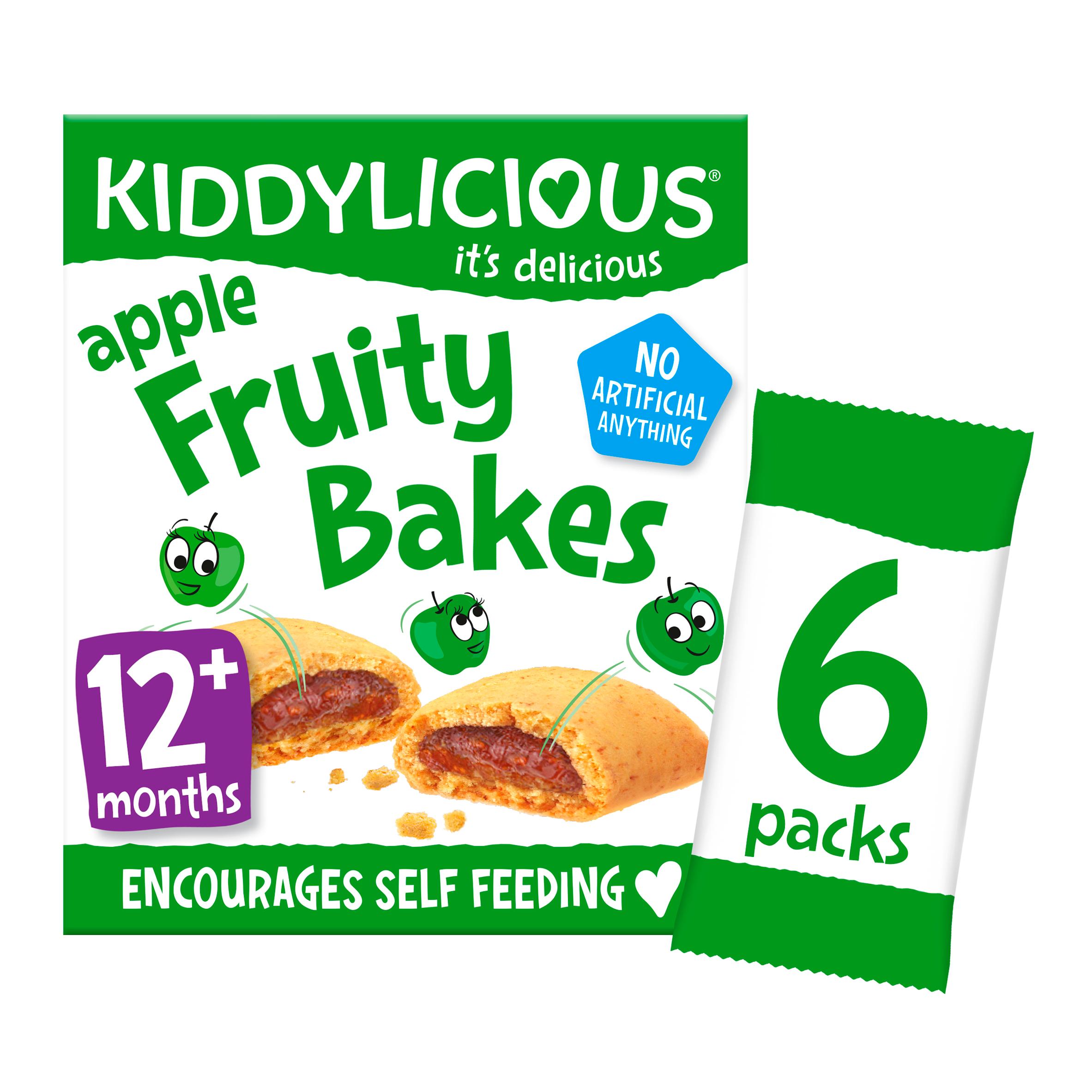 Kiddylicious Apple Bakes 6 X 22G