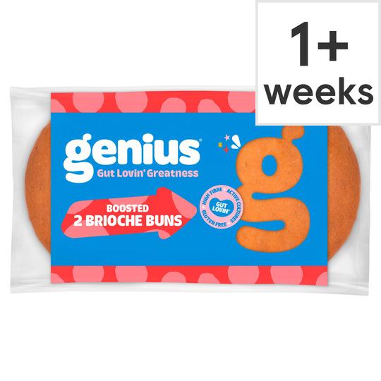 image 1 of Genius Gluten Free Brioche Burger Buns 2 Pack
