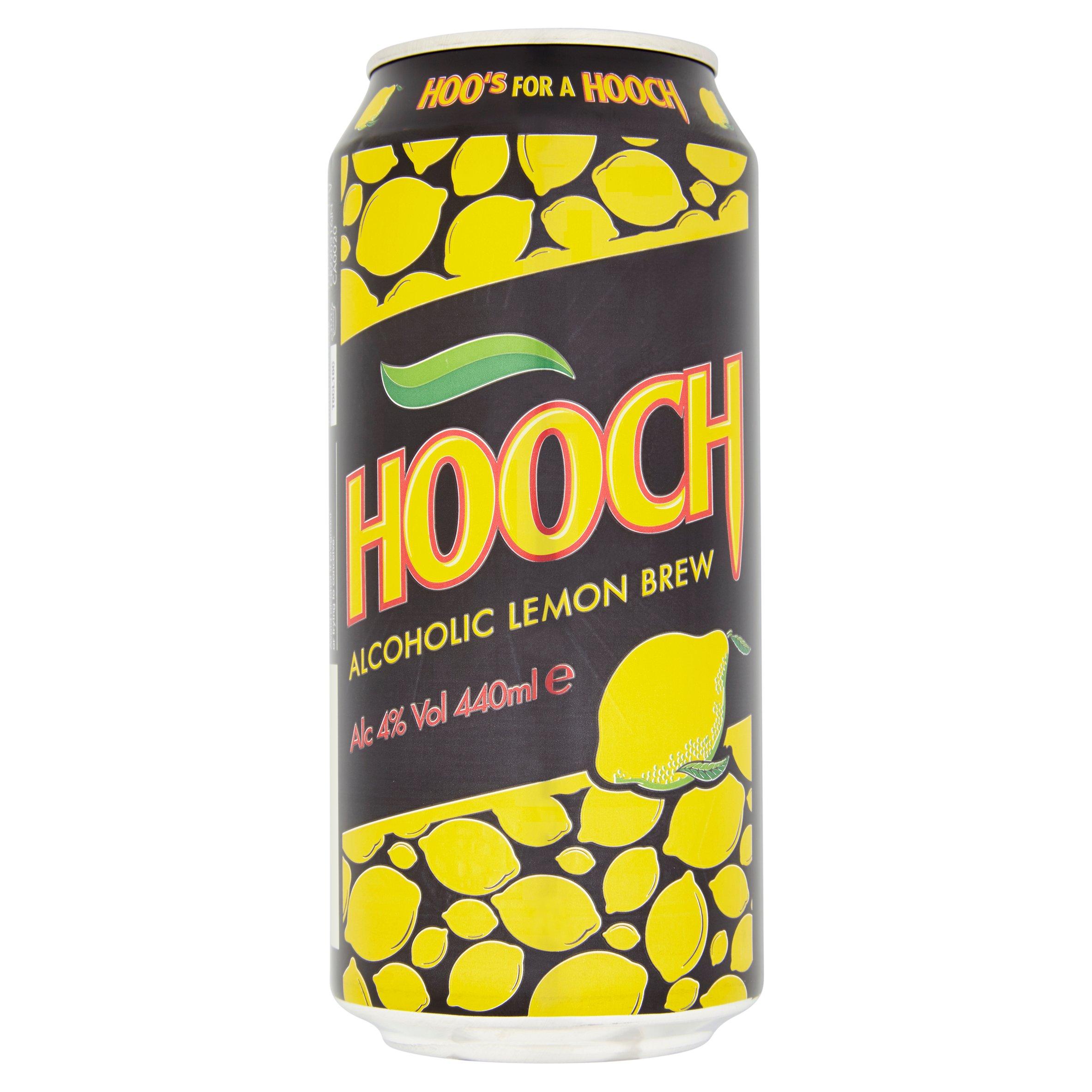 Hooch Alcoholic Lemon Brew 440Ml