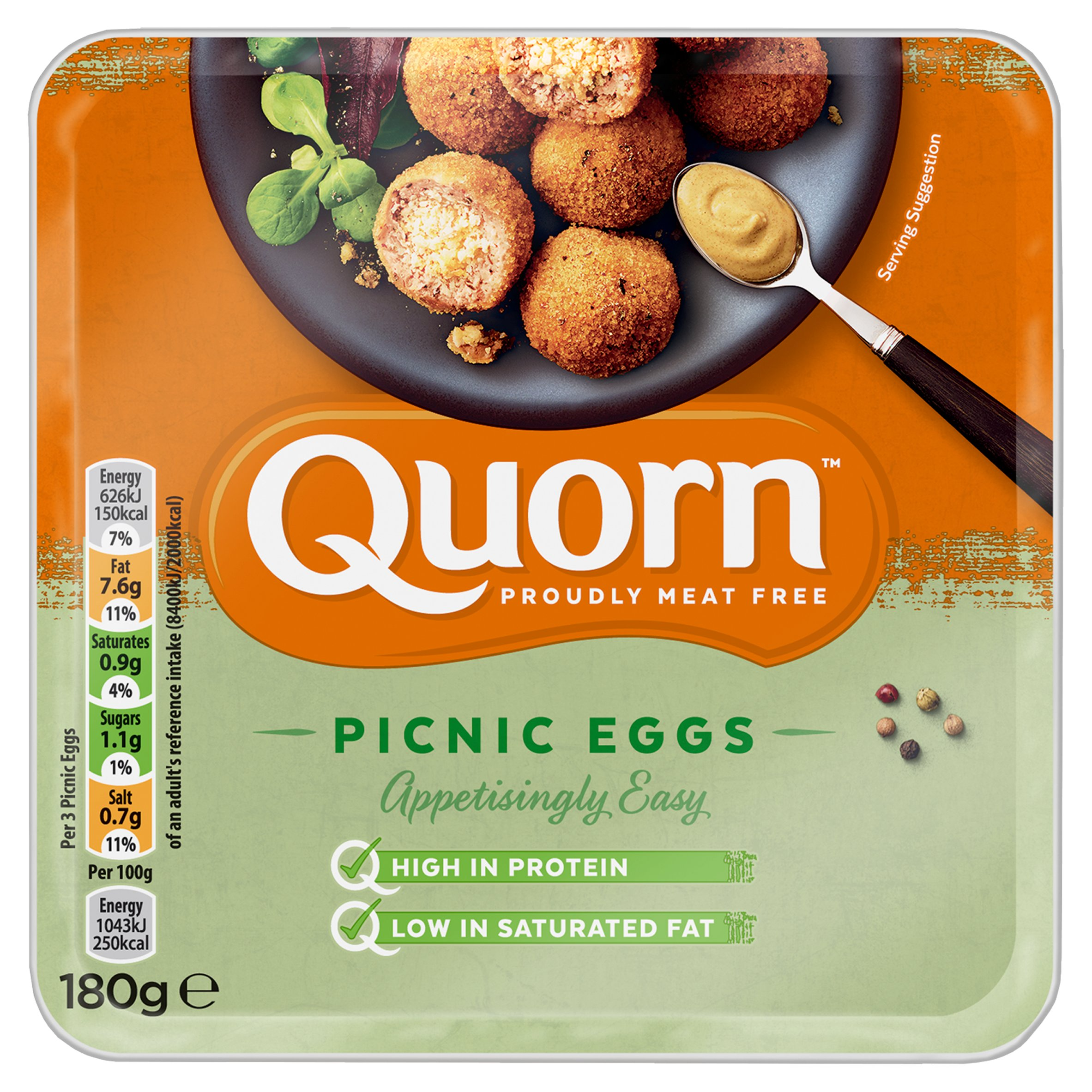 Quorn Picnic Egg 4X180g