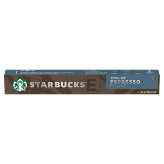 Starbucks Espresso Roast Coffee Pods 10 Pack 57g