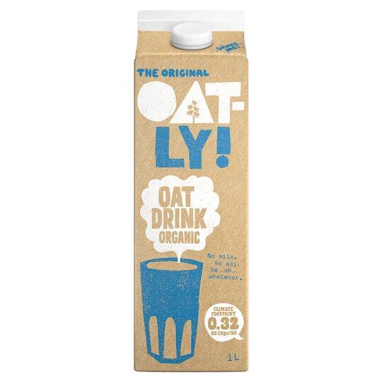 image 1 of Oatly Organic Oat Drink 1 Litre