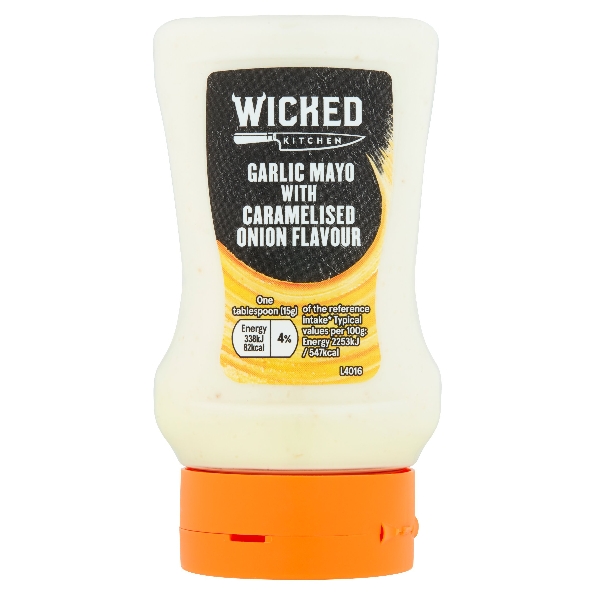 Wicked Kitchen Garlic Mayonnaise With Caramelised Onion 265G