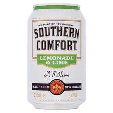 Southern Comfort Lemonade Lime Can 330ml Tesco Groceries