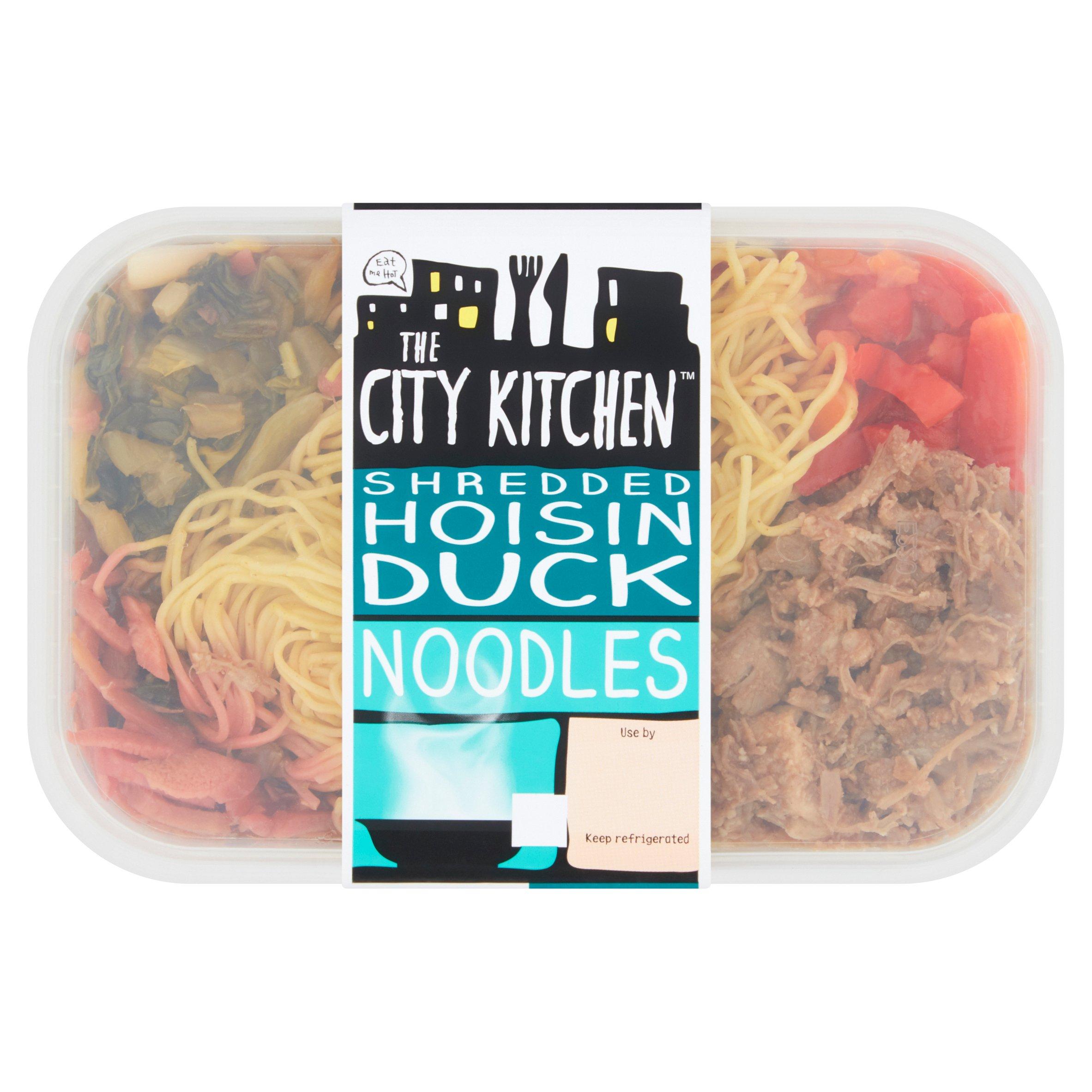 City Kitchen Hoisin Duck Noodles 380G