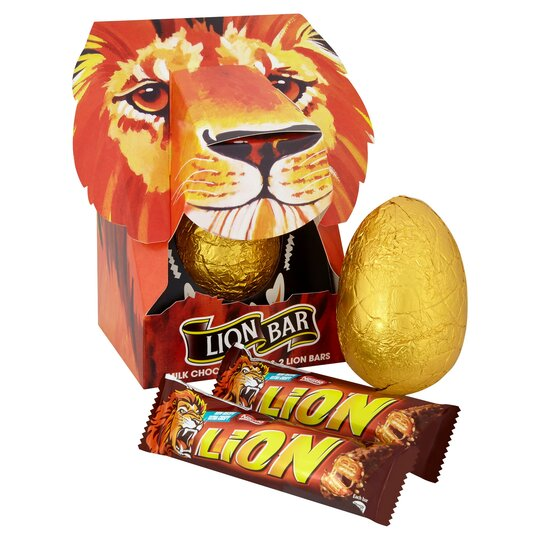 image 1 of Lion Bar Choc Retro Easter Egg 200g