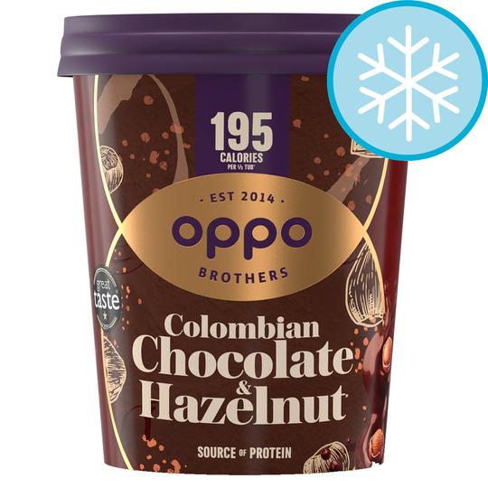 image 1 of Oppo Colmbian Chocolate & Hazelnut Ice Cream 475Ml