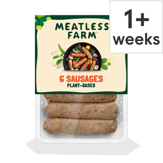 The Meatless Farm 6 Plant-Based Sausages 300G