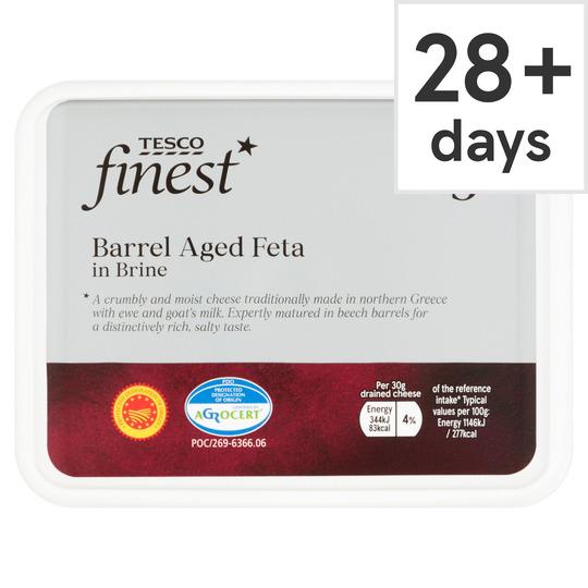 Tesco Finest Barrel Aged Feta 310G