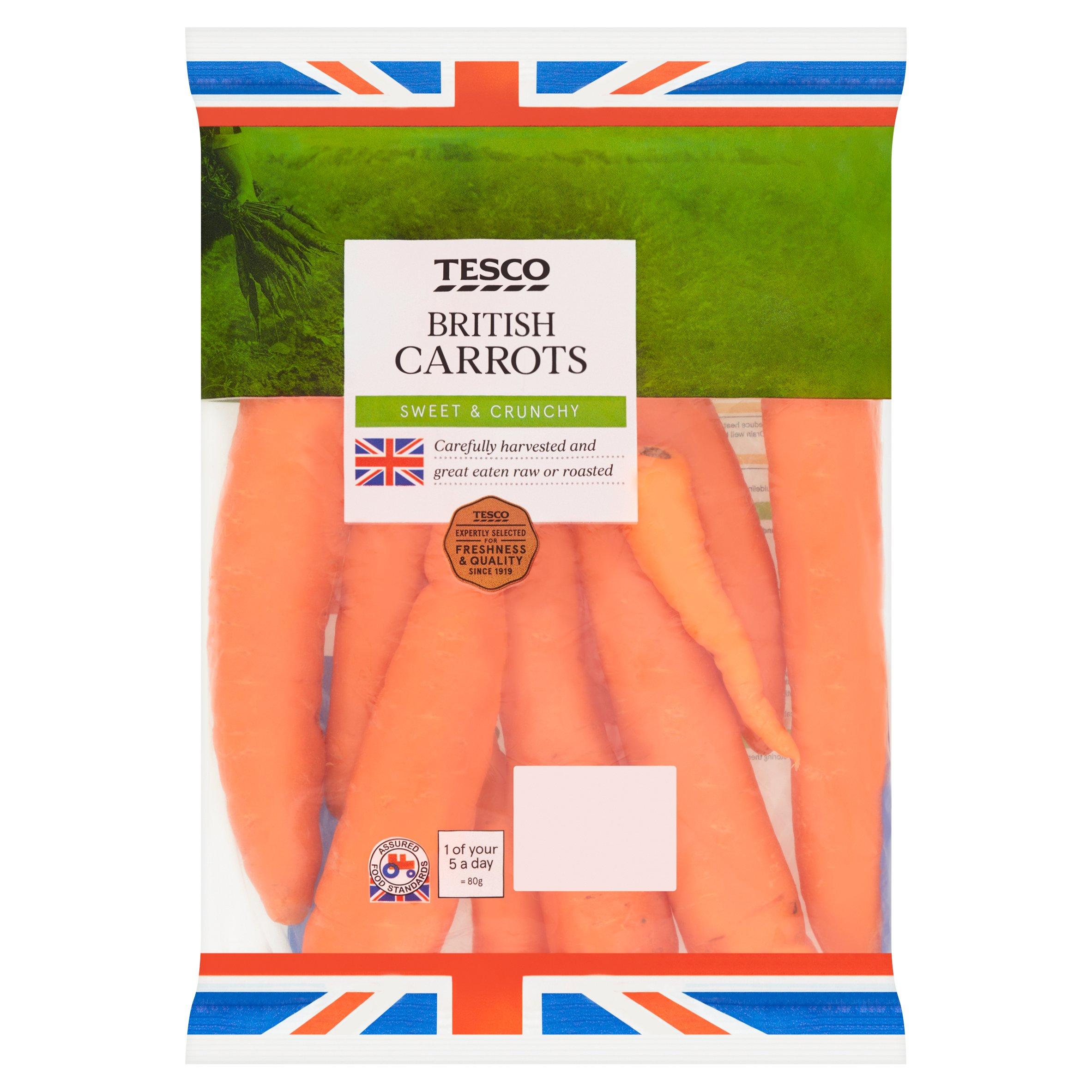 Tesco Carrots 1Kg