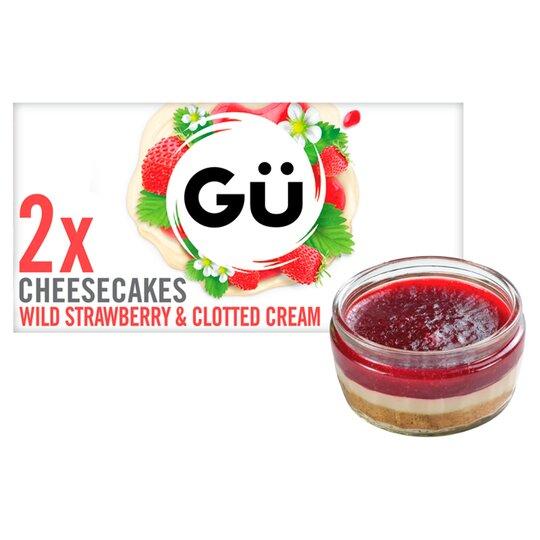 Gu Strawberry & Clotted Cream Cheesecake 2X87g