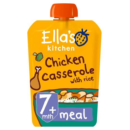Ella's Kitchen Chicken Casserole 130G