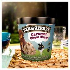 image 4 of Ben & Jerry's Caramel Chew Chew Ice Cream 465Ml