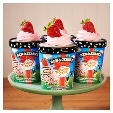 image 4 of Ben & Jerry's Birthday Cake Vanilla Ice Cream 465Ml