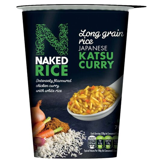 Naked Rice Japanese Chicken Katsu Curry 78g