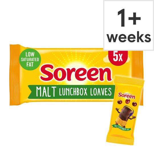 Soreen Malt Lunchbox Loaves 5 Pack