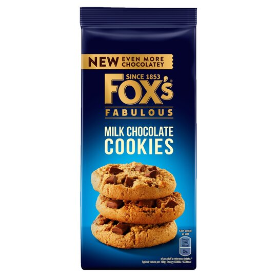 Fox's Milk Chocolate Cookies 180G