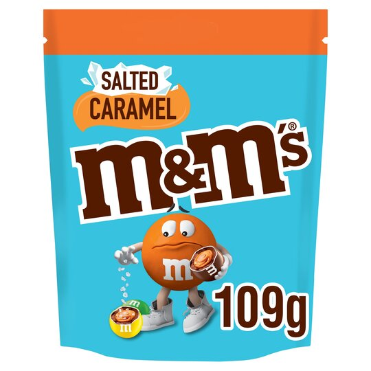 image 1 of M&M's Salted Caramel Pouch 109G