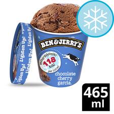 image 1 of Ben & Jerry's Moophoria Chocolate Cherry Garcia Ice Cream 465Ml