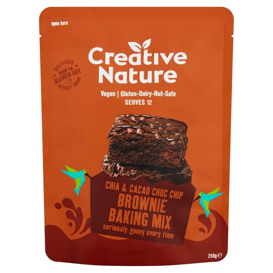 Creative Nature Free From Brownie Baking Mix 250G