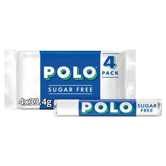 image 1 of Polo Sugar Free Tube Multipack 4 X 33.4G