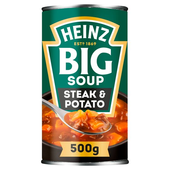 image 1 of Heinz Big Soup Angus Steak & Potato 500G