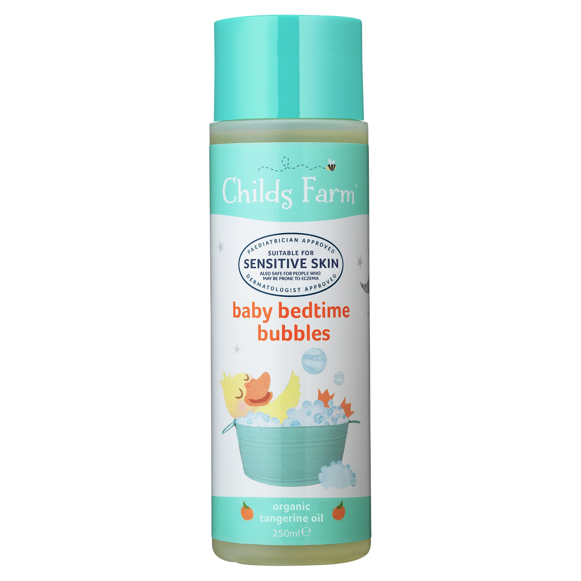 Childs Farm Organic Baby Bedtime Tangerine Bubble Bath 250Ml