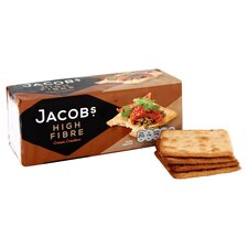 image 2 of Jacobs High Fibre Cream Crackers 200G